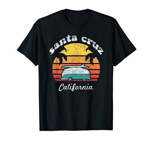 Santa Cruz Souvenir Retro California Men Women T-Shirt Gifts