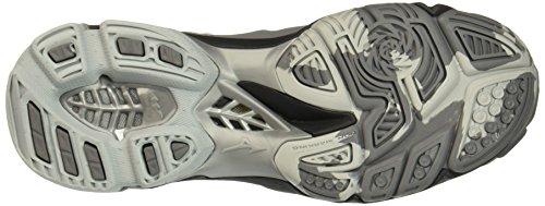 Mizuno Herren Wave Lightning Z3 Mid Volleyball-Schuhe Grau