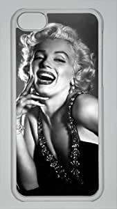 icucase iphone 5/5s iphone 5/5s case Black and white photo of Marilyn Monroe iphone 5/5s iphone 5/5s cases(pc material)