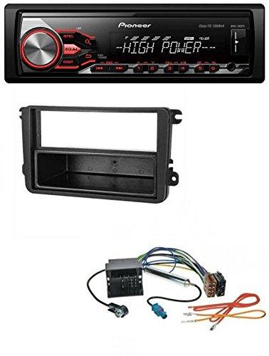 Pioneer 280fd USB 1DIN MP3 AUX Radio de coche para VW Sharan a partir de 10 Tiguan 07 Touran a partir de 03: Amazon.es: Electrónica