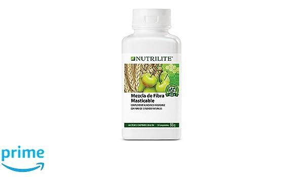 Fibra Masticable NUTRILITETM - Los comprimidos de Fibra Masticable NUTRILITE contienen fibra dietética de 13 fuentes naturales, como fructooligosacáridos y ...