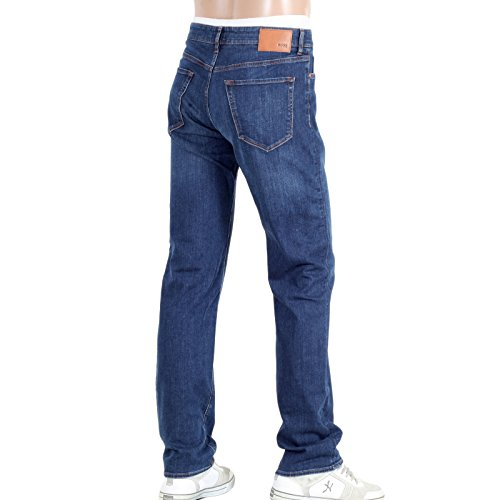 Hugo Boss Herren Jeanshose blau blau
