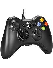 AlBetter Xbox 360 Controller, PC Controller for Microsoft Xbox360 / Xbox 360 Slim/Windows Vista/7/8/8.1/10, USB Wired Joystick Gamepad With dual vibration and Improved Ergonomic Design