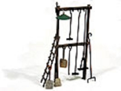 HO Scale Loco Cleanout Rack -