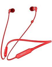 DACOM Bluetooth Headphones Neckband, Magnetic Wireless Graphene Hifi Stereo Super Bass Headset, Sweatproof In-ear Sports Earphones, Lightweight Earbuds Noise Cancelling