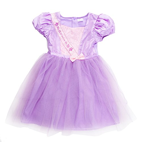 Girls' Princess Rapunzel Dress up Fairy Tales Costume Cosplay Party Embroidered Ruffles Flower Dress For Birthday Wedding Pageant Party (Rapunzel Wedding Halloween Costume)