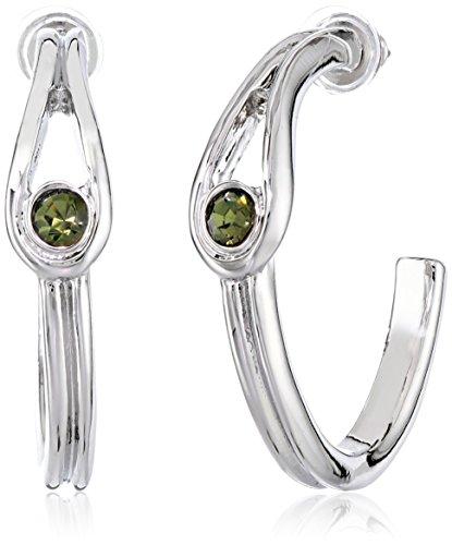 t-tahari-essentials-silver-and-black-diamond-loop-hoop-earrings