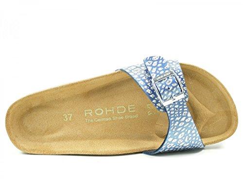 Rohde Alba - Mules Mujer Blau