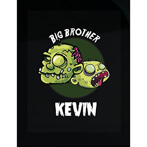 Prints Express Halloween Costume Kevin Big Brother Funny Boys Personalized Gift - Sticker -