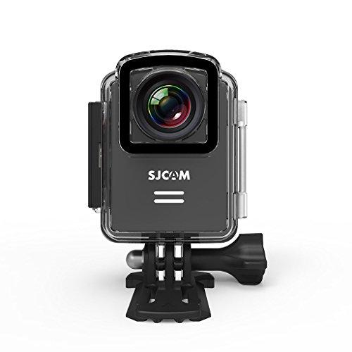 SJCAM M20 Action Camera Wifi Mini Sports Cam Chipset Novatek 96660 (4K/2880*2160,Gyro,166¡ãA+HD Wide Angle, Adjustable FOV)H.264 Player, SD Card UP TO 128GB Action CAM_Black