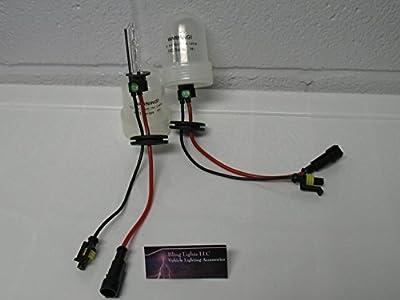 (2) H1 12000K Xenon HID Violet Purple Bulbs 35W Pair