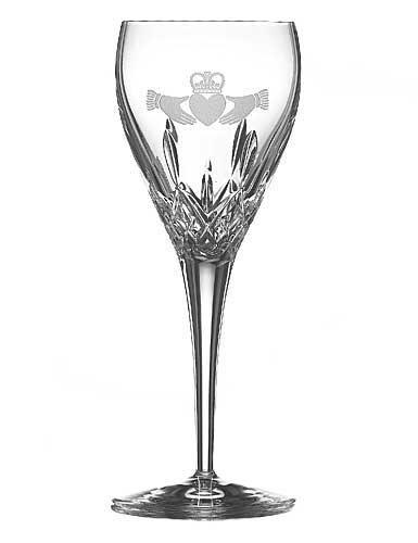Claddagh Crystal - Galway Crystal Claddagh Friendship Wine, Pair