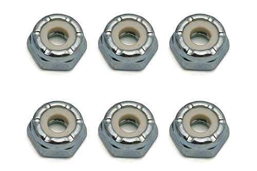 Team Associated 6953 8/32 Steel Low Profile Lock Nut (6)  (Factory Team Locknut)