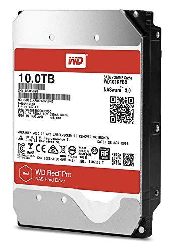 Western Digital 10TB RED PRO SATA 6GB/S 5400 RPM 256MB 3.5IN