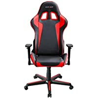 DXRacer OH/FH00/NR Ergonomic, High Quality Computer Chair for Gaming, Executive or Home Office Formula Series Red / Black
