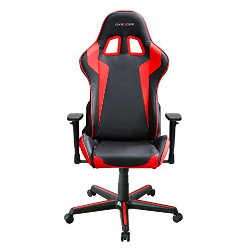 DXRacer OH/FH00/NR Ergonomic, High Quality Computer Chair for Gaming, Executive or Home Office Formula Series Red / Black For Sale