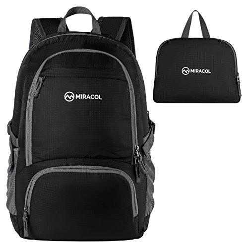 Miracol Lightweight Packable Backpack Foldable