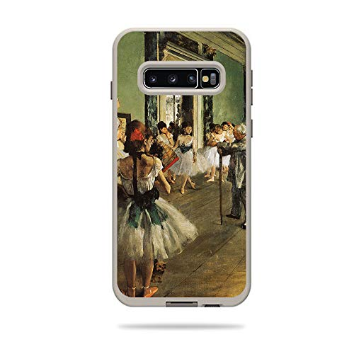 (MightySkins Skin Compatible with Lifeproof Fre Case Samsung Galaxy S10+ - The Ballet Class | Protective, Durable, and Unique Vinyl Decal wrap Cover | Easy to Apply, Remove | Made in The USA)