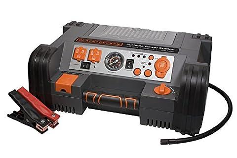BLACK+DECKER PPRH5B Portable Power Station: 900 Peak/450 Instant Amps, 500W Inverter, 120 PSI Air (Air Compressor Jumper)
