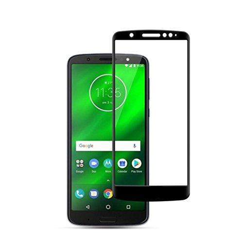Película de Vidro 3D para Moto G6 Play, Cell Case, XT1922, Preto