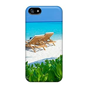 New Iphone 5/5s Case Cover Casing(secluded White S Beach Maldives)