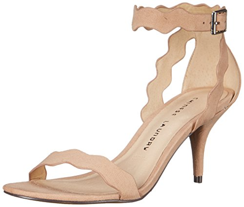 Chinese Laundry Women's Rubie Dress Sandal, Dark Nude Suede,  8.5 M US
