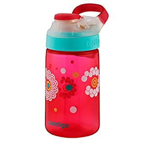 Contigo Autoseal Dandelion Gizmo Sip Kids Water Bottle, 14 oz., Cherry Blossom