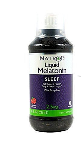 Natrol Melatonin 2.5 mg Liquid 8 oz - Natrol Liquid Melatonin
