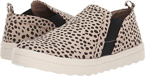 DV by Dolce Vita Women's Pulse Sneaker, Leopard Stella Suede, 8 M US from DV by Dolce Vita