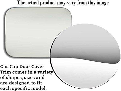 Fits 1998-2011 MERCURY GRAND MARQUIS 4-door -Stainless Steel GAS CAP DOOR