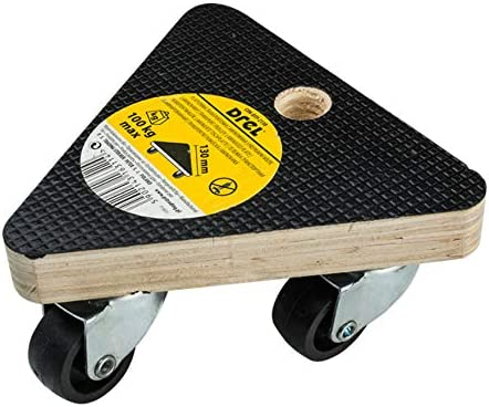 Pro Furniture Rolling Board Transport Roller 130 x 130 x 130 mm
