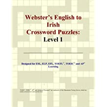 Webster's English to Irish Crossword Puzzles: Level 1