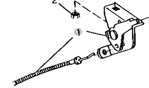 John Deere equipo Original Push Pull cable # am101563