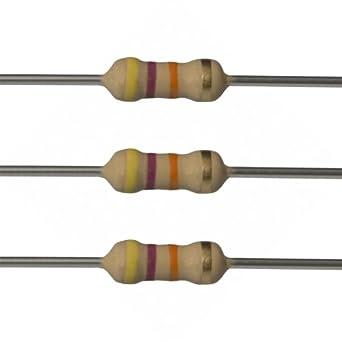 Carbono resistor 0.25 w 1//4w 47k Ohm 47k X 100