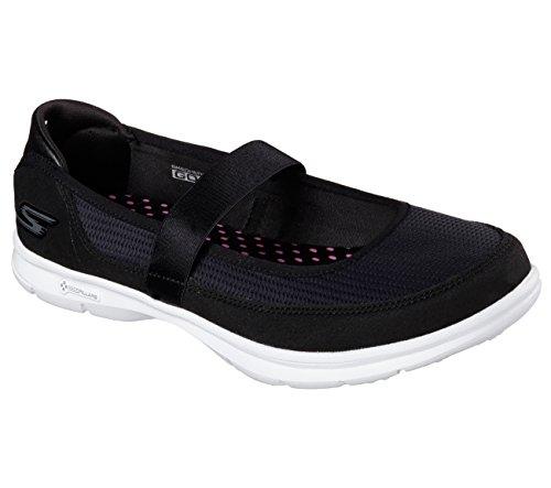 Skechers Zapatillas Go Step Original Negro/Blanco Talla: 36,5