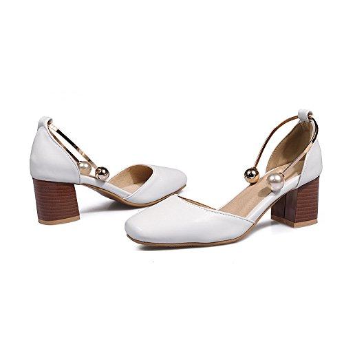 Sandales BalaMasa 36 Femme Blanc Blanc 5 Compensées FWaCwq