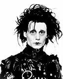 Edward Scissorhands Johnny Depp Movie Portrait 8x10 Glossy Photo Print Poster RARE