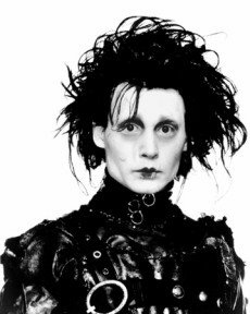 Edward Scissorhands Johnny Depp Movie Portrait 8x10 Glossy Photo Print Poster RARE