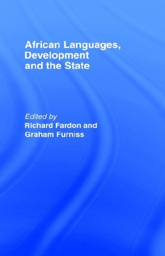 African Languages, Development and the State (EIDOS) Pdf