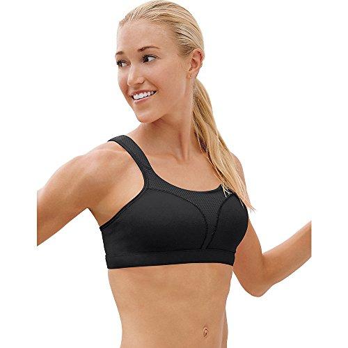 Champion Spot Comfort Full-Support Sports Bra_Black_40DD