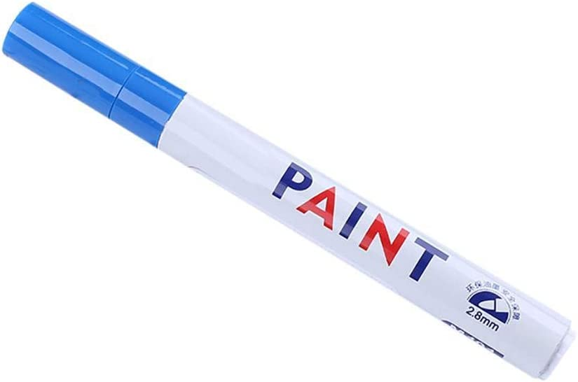 Permanent Paint Pens for Plastic Waterproof Colored Pen DIY Album Pen Graffiti Pens Cloth Glass Rubber Wood Rock and Any Surface Ceramic Partm Multifunction Paint Markers Set