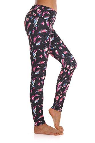 ZEROGSC Women's Yoga Pants – Workout Running Tummy Control Stretch Power Flex Long/Capris Leggings – DiZiSports Store