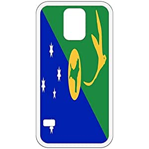 Christmas Island Flag White Samsung Galaxy S5 Cell Phone Case - Cover by ruishername