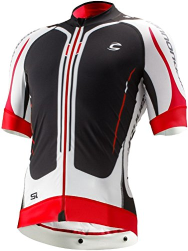 Cannondale Elite Road 1 Jersey - Medium, Black/White/Red