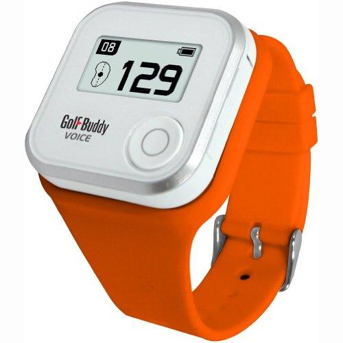 NEW WRISTBAND WATCH STRAP FOR GOLF BUDDY VOICE GPS ORANGE