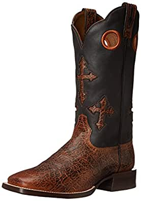 Ariat Men's Ranchero Western Cowboy Boot,Adobe Clay/Black,7 D US