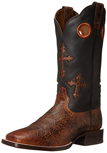 (Ariat Men's Ranchero Western Cowboy Boot,Adobe Clay/Black,11 D US)