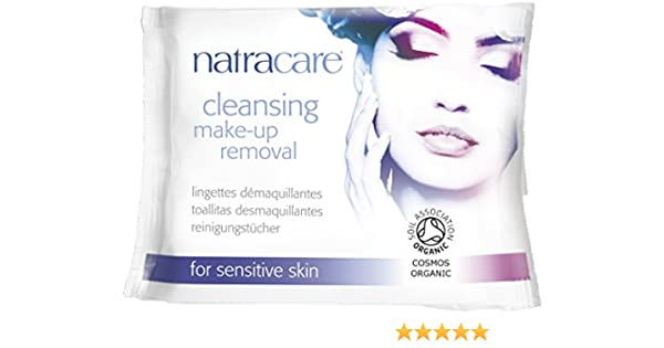 Amazon.com: Natracare Organic Make-Up Removal Wipes - Natural Makeup Removing Wipes - Cruelty Free Vegan for Sensitive Skin - 3 Packs of 20: Health ...