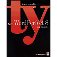 Teach Yourself Corel Wordperfect 8 for Windows