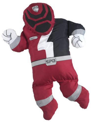 Snugglers for Boys Licensed Power Rangers (Red Ranger) by Play Along